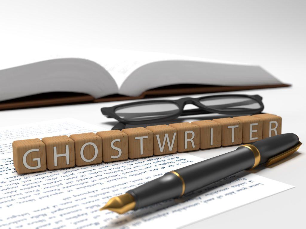 Ghostwriter written in Scrabble Text